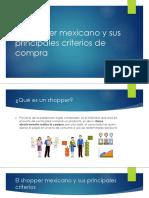 El shopper mexicano y sus principales criterios de compra