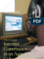 Internet Governance in an Age of Cyber Insecurity