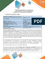 Syllabus del curso Gestión Ambiental