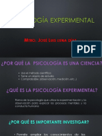 DIAPOSITIVAS-PSICOLOGÍA-EXPERIMENTAL