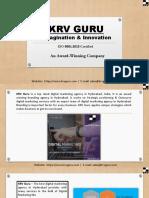 Best & Top Digital Marketing Agency in Hyderabad KRV Guru