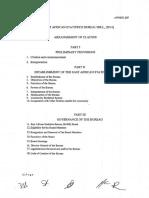 East Africs Statistics Bureau Bill