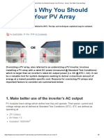 7 Reasons Why You Should Oversize Your PV Array - Sunny. The SMA Corporate Blog