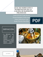 Técnicas de Inspección e Instrumentación en La Lubricación(1)