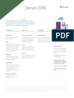 SharePoint Server 2016 Datasheet.pdf
