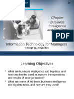 Chapter Bisnis intelligence and Big Data