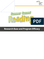 Summer_Success_Reading_Research_and_Efficacy