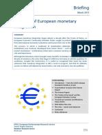 History of EU Monetary Integration