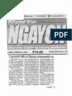Ngayon, Jan. 20, 2020, 3 priority bills ni Digong minamadali na.pdf