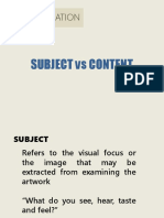 SESSION 3 - SUBJECT CONTENT CRITIQUING