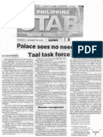Philippine Star, Jan. 20, 2020, Palace sees no need for Taal task force.pdf