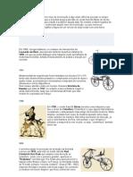 bicicleta Surgimento e os campeões