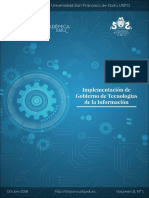 Implementación de Gobierno de Tecnologías de la Información