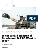 What Would Happen If Russia and NATO Went to War_