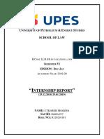 INTERNSHIP REPORT 101(ROUGH)