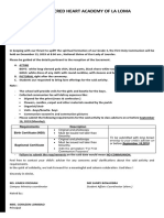 CIRCULAR FOR FIRST COMMUNION