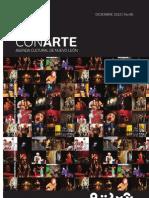 Agenda cultural de Conarte | diciembre 2010