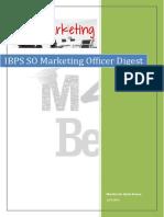 IBPS SO Marketing Officer Digest