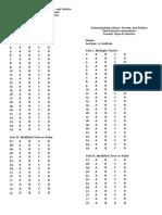Answer Sheet RWS and UCSP