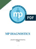 Quality Assurance Plan for MP Diagnostic Clinic.doc