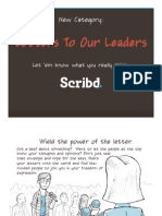 New Letters To Our Leaders Category
