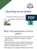 Measuring KPI