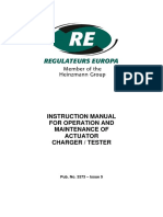 PUB_3373 - Actuator Charger & Tester - Instruction Manual - Issue 5