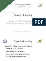 Capacity Planning 1