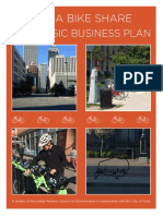 Tulsa Bike Share Business Plan
