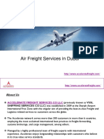 Air Freight Services in Dubai