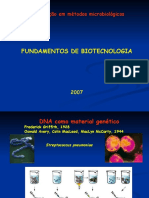 Fundamentos de Biotecnologia 2008
