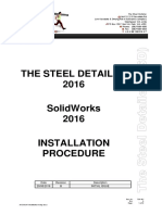 TSD 2016 Installation Setup