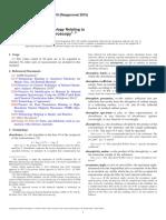 E131-10(2015) Standard Terminology Relating to Molecular Spectroscopy