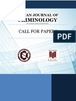 Indian Journal of Criminology-Call for Papers (FINAL)