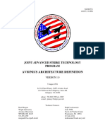 JAS - AVIONICS ARCHITECTURE DEFINITION