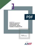 Etude_risque de LiquiditÉ Et Comportement Des Investisseurs_version PubliÉe