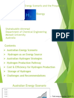 A Study of Australian Energy Scenario and the Prospect of H2 Energy.pptx