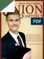 Mount Allison University Students' Administrative Council's Union Quarterly