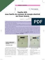 Contoare de Energie Electrica Familia ACE