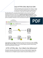 Know All About Https CDN, SSL/TLS CDN