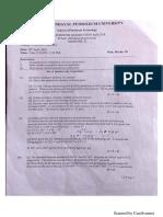 Chemistry end sem paper 18
