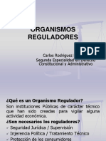 Organismos Reguladores 2019