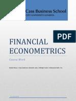 Med Selim Econometrie