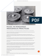 Filipinas Heritage Library _ Music in Mindanao Indigenous Practices