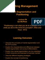 04 Market Segmentation & Positioning RAC