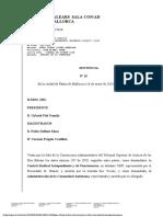 Sentència 15/2020 del Tribunal Superior de Justícia de les Balears (TSJIB) sobre el català a la Sanitat