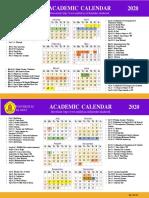 UNKLAB ACADEMIC CALENDAR 2020 (191119)