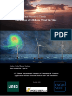 Offshore Wind turbine Simulation