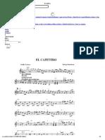 El Cafetero Partitura PDF