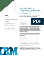 IBM Resilient SOAR Platform data sheet